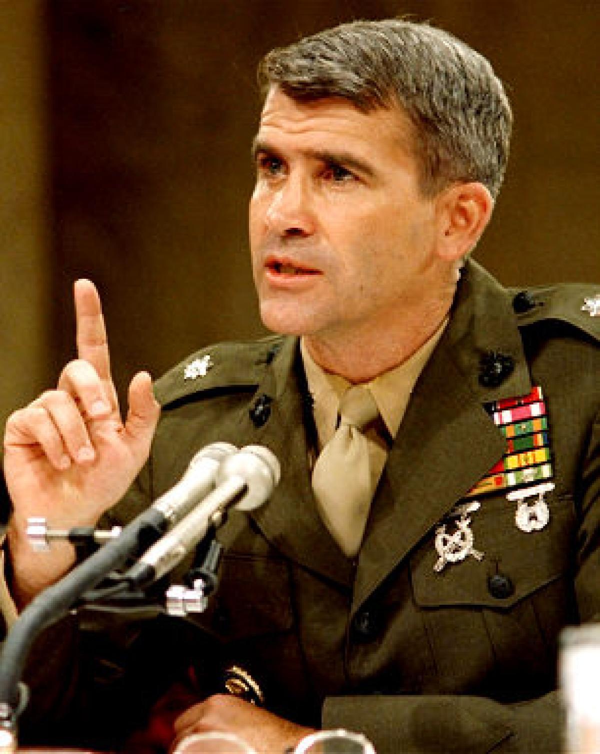 Oliver North, Iran-Contra