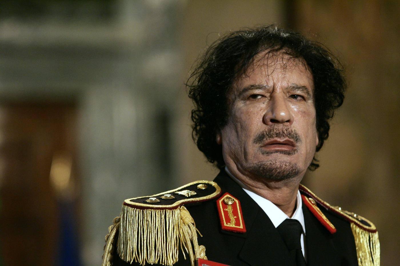 Roberto Saviano, Gheddafi