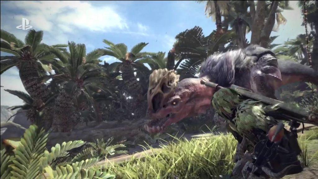 Sony Monster Hunter World