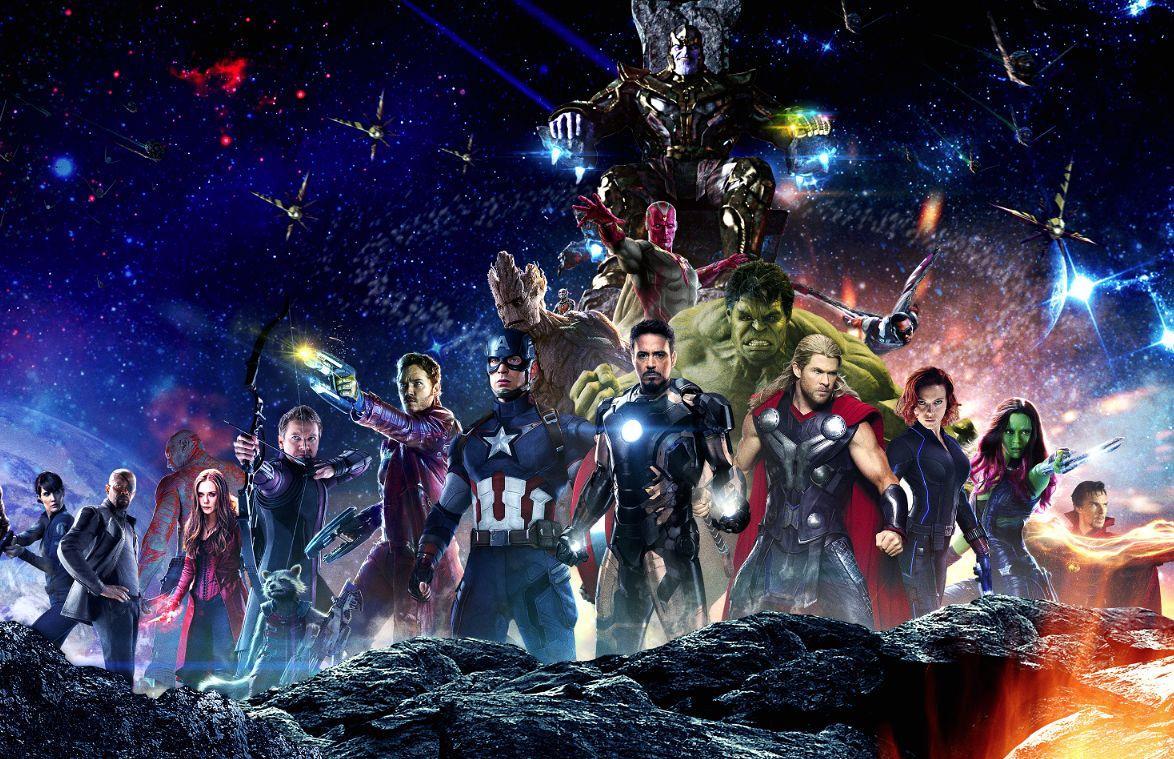 The Avengers - Infinity War pt. 1