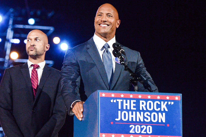 The Rock Presidente USA