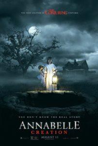 Poster ufficiale di Annabelle 2: Creation
