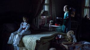 Una scena di Annabelle 2